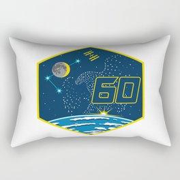 Expedition 60: Tribute to Apollo 11 Rectangular Pillow