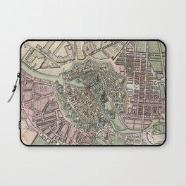 Vintage Map of Berlin Germany (1716) Laptop Sleeve