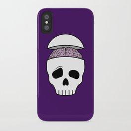Brainy Skull iPhone Case