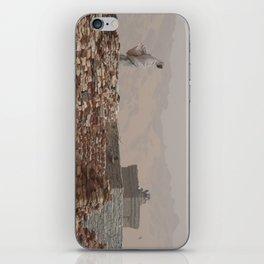 woman in Tichit iPhone Skin