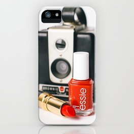 Class Comes in Red iPhone Case