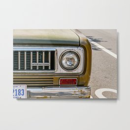 Vintage International Metal Print