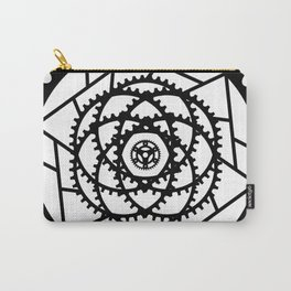 Bike Mandala Gears Carry-All Pouch