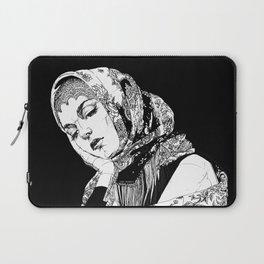 Lady Russia. Yury Fadeev© Laptop Sleeve