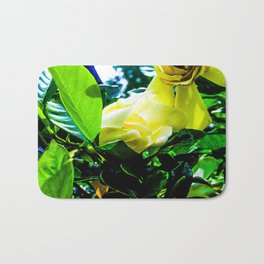 Gardenia in Bloom Bath Mat