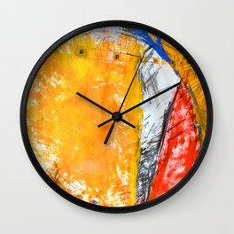 Slice Wall Clock