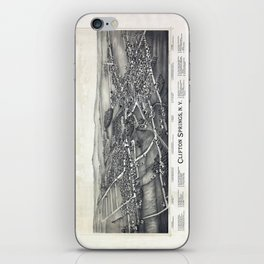 Clifton Springs - New York - 1892 iPhone Skin