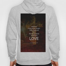 1 Corinthians 13:13 Bible Verses Quote About LOVE Hoody