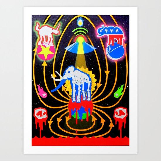 """CIRCUS OF THE STARS"" Art Print"