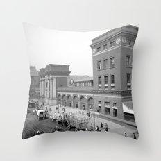 North Terminal Station, Boston Throw Pillow