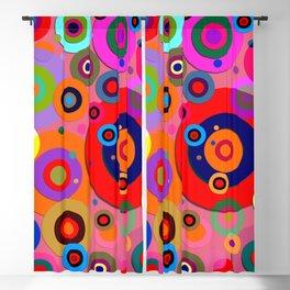 Op Art #18 Blackout Curtain