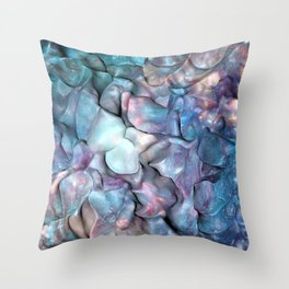 Abstract Galaxy 3D space Throw Pillow