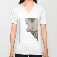 roman V-neck T-shirts featuring Roman by Nikole Stark