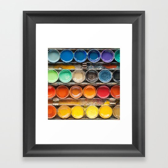 The Painter II (Vintage Edition) Framed Art Print