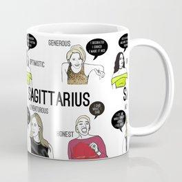 Sagittarius- Bravostrology Series Coffee Mug