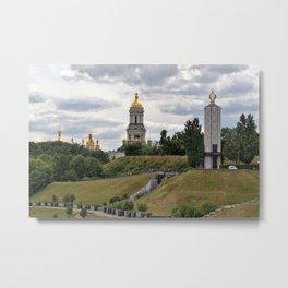 View of the Kiev-Pechersk Lavra Metal Print