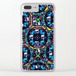 flower power 5 Clear iPhone Case