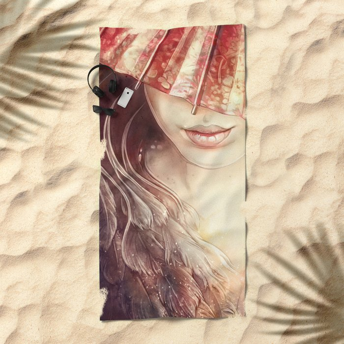 Japanese Dream Beach Towel