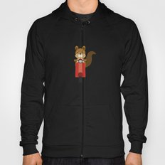 Squirrel on Motor Scooter Hoody