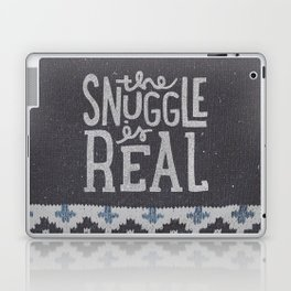 the snuggle is real Laptop & iPad Skin
