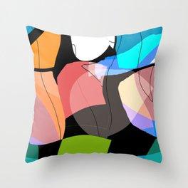 Stueckwerk III Throw Pillow