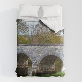 Lower Bridge Burnside's Bridge Antietam National Battlefield Civil War Maryland Comforters