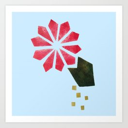 Flowers Can Be Buoyant Art Print