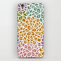 Floral decoration iPhone Skin