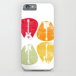 Guitars Retro iPhone Case