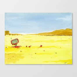 Left behind Canvas Print