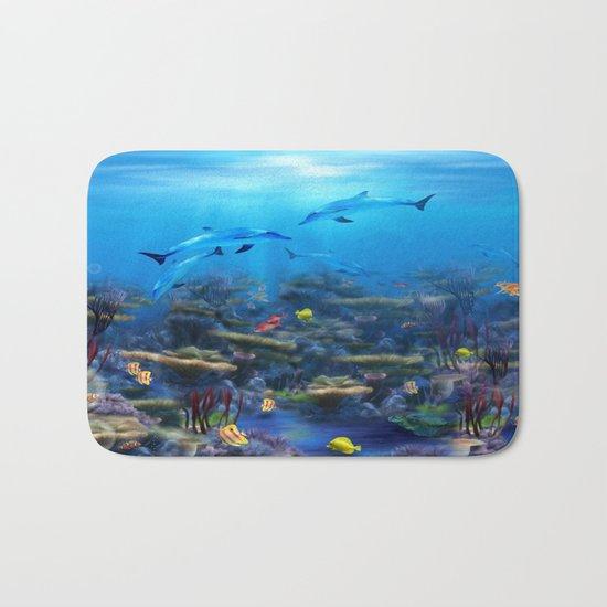 Lost Ocean Bath Mat