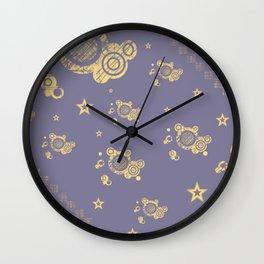 Yellow Punk Wall Clock