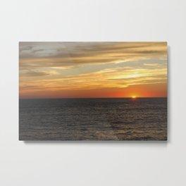 East Coast Sunset Metal Print
