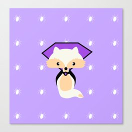 Count Foxula Canvas Print