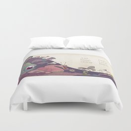 Just keep going Duvet Cover