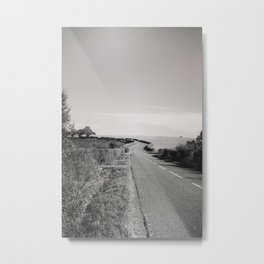 Road To Travel Metal Print