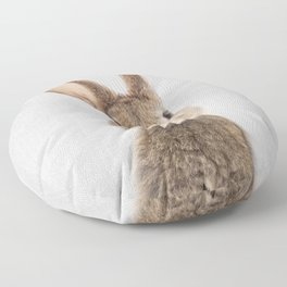 Rabbit - Colorful Floor Pillow