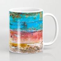 portland Mugs featuring The Portland by Priscilla Clare