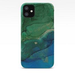 Ocean gold iPhone Case
