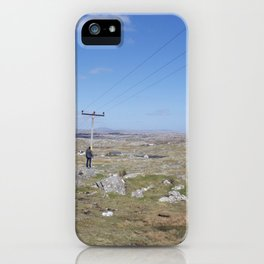 Golden Highway Lewis and Harris 2 iPhone Case