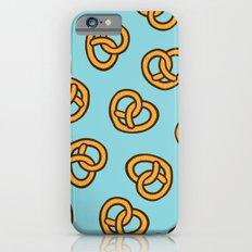 I Heart Pretzels Pattern iPhone 6s Slim Case