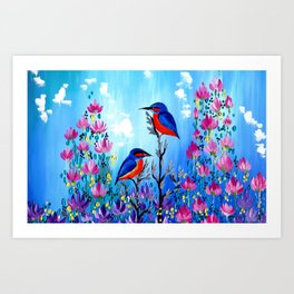 I Love Being With You Art Print