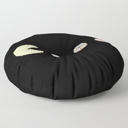 Hunting donuts Floor Pillow