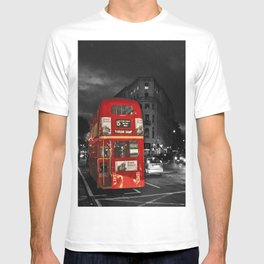 Red Routemaster London Bus T-shirt