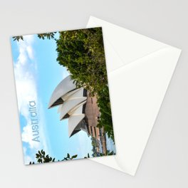Sydney Australia Opera House Stationery Cards