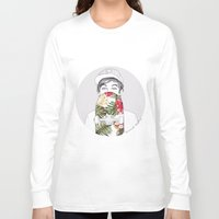 coconutwishes Long Sleeve T-shirts featuring L Skate by Coconut Wishes