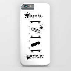 Cool How to KickFlip Skateboarding guideline! Slim Case iPhone 6s