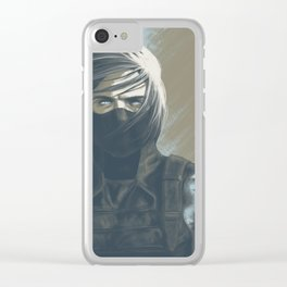 Marinette Stare Clear iPhone Case