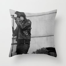 Julian Casablancas - The Strokes at Bonnaroo 2011 Throw Pillow