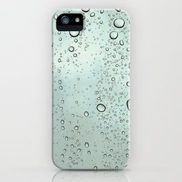 Waterdrops on a Window iPhone Case